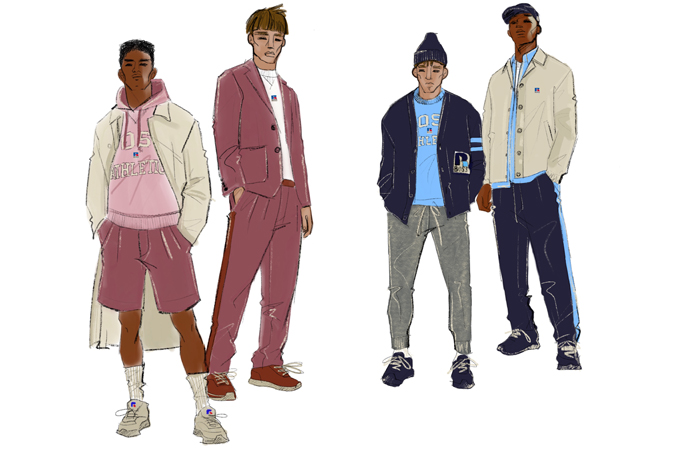 Boss und Russell Athletic lancieren Capsule Collection