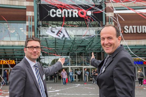 Centro investiert 20 Millionen Euro für Modernisierung