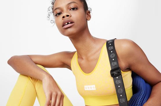 Asos präsentiert erste Activewear-Linie