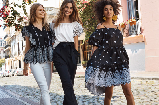 Winona Ryder und Elizabeth Olsen für H&M