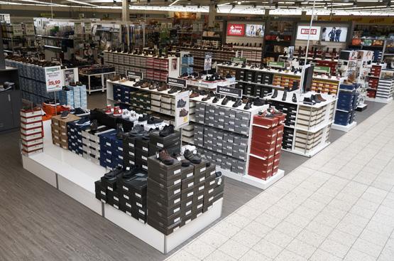 Hamm Reno Group: Ausstattung von Schuhflächen bei C&A