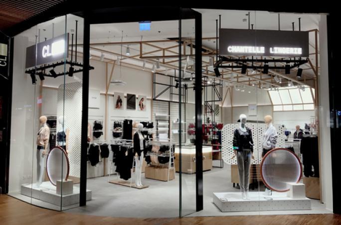 Chantelle: Neues Retailstore-Konzept