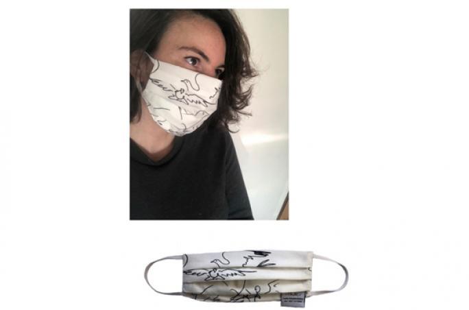 Sophia Schneider-Esleben macht Designer-Atemschutzmasken