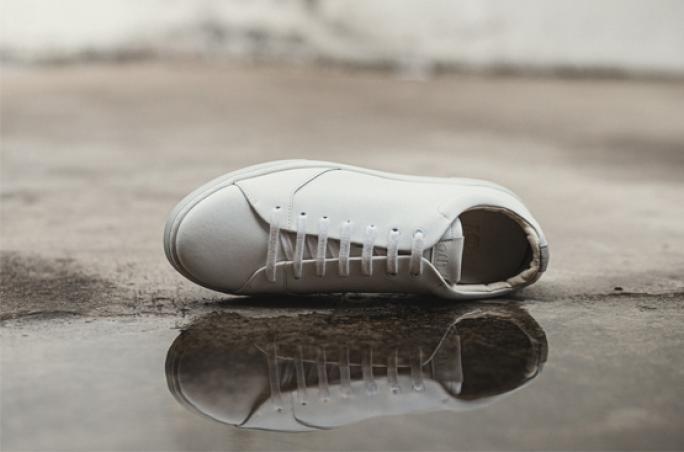 Oth präsentiert Sneaker aus recyceltem Leder