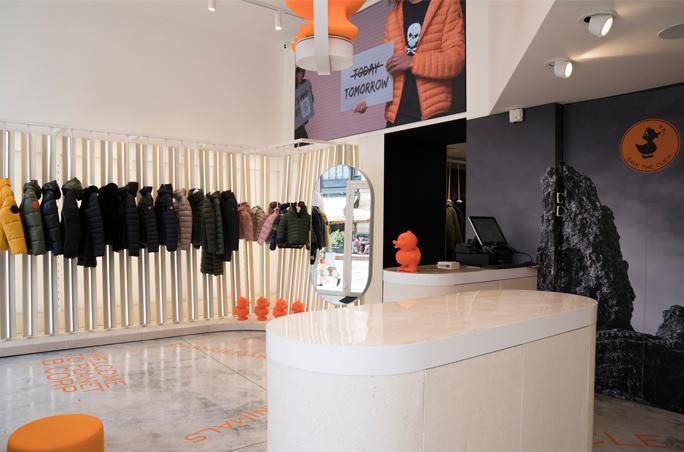Save The Duck eröffnet Monobrand Store in Mailand