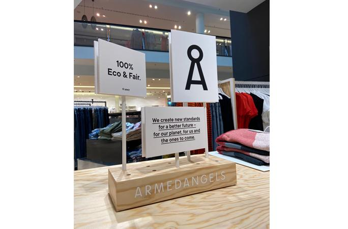 Armedangels etabliertShop-in-Shop Systeme