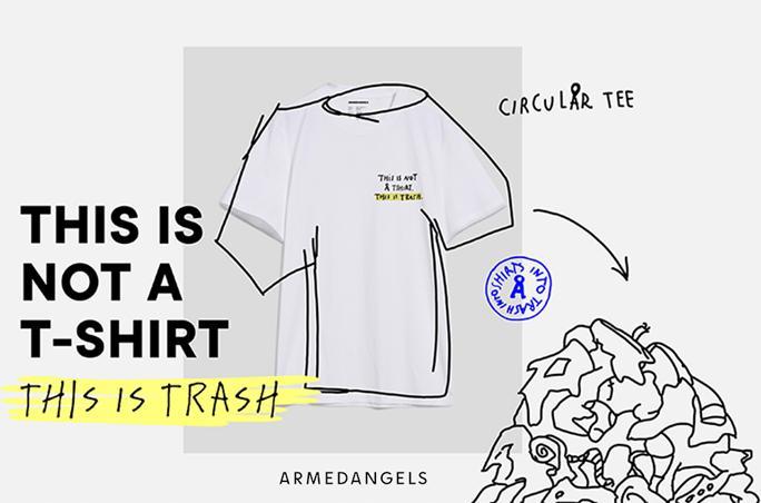Armedangels: T-Shirts aus Müll