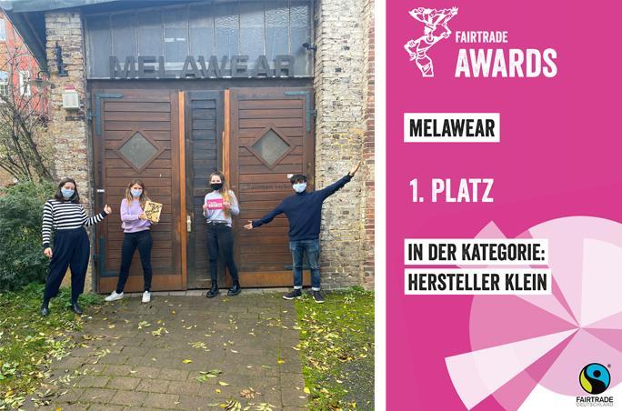 Melawear gewinnt Fairtrade-Award
