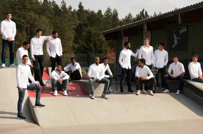 Desoto stattet Basketballteam Brose Bamberg aus
