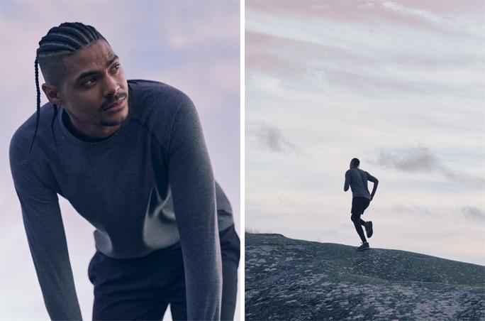 Arket präsentiert Sportswear für Herren