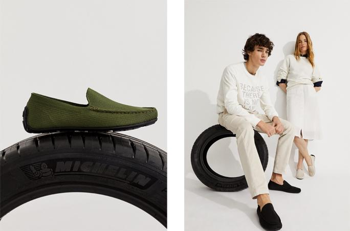 Ecoalf x Michelin: Loafer mit Sohle aus recyceltem Gummi