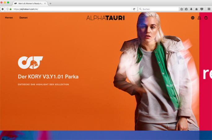 AlphaTauri startet Online Shop