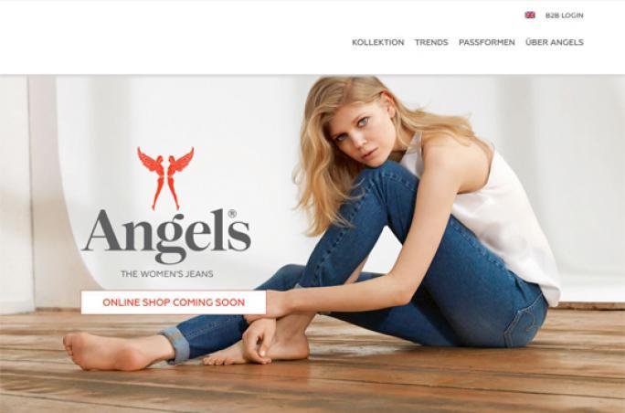 Angels mit neuem Webauftritt