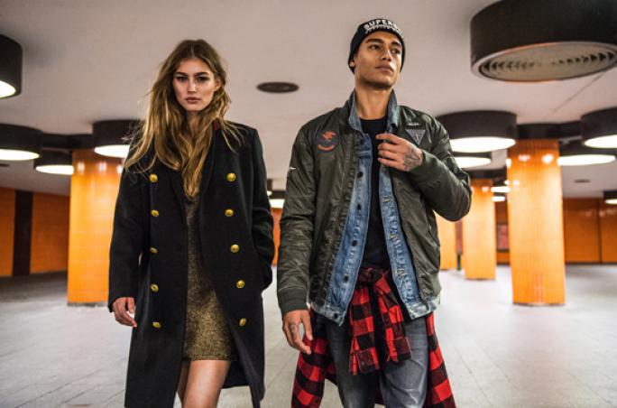 Superdry präsentiert 'This is the jacket'-Kampagne