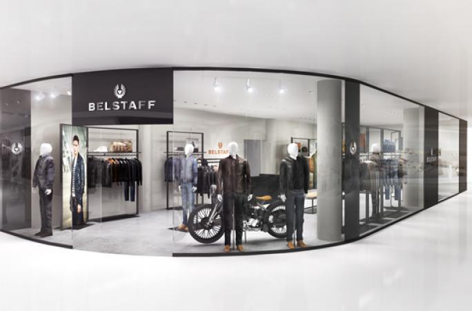 Belstaff expandiert mit zwei weiteren Stores