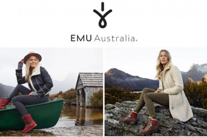 Emu Australia ,  ISPO, Waterproof'-Kollektion , Andy Knowles