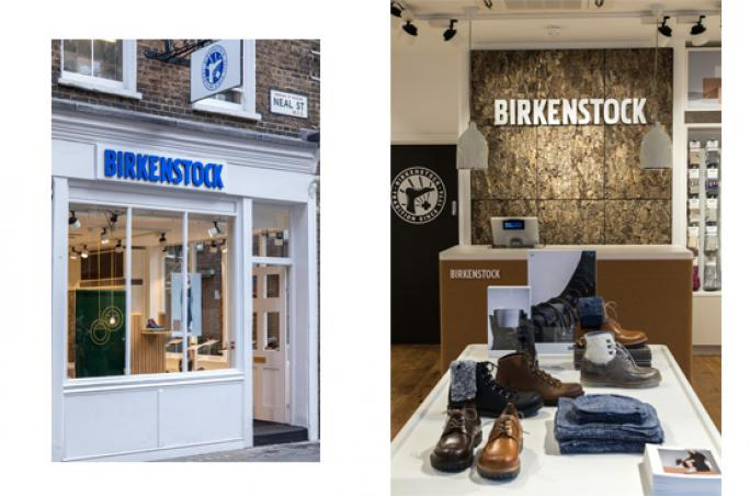Birkenstock: Markenstore feiert Debüt in UK