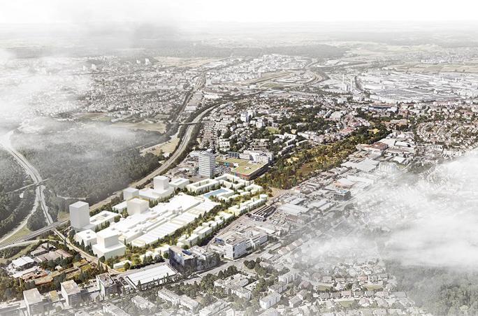 Breuninger plant neues Stadtquartier in Stuttgart