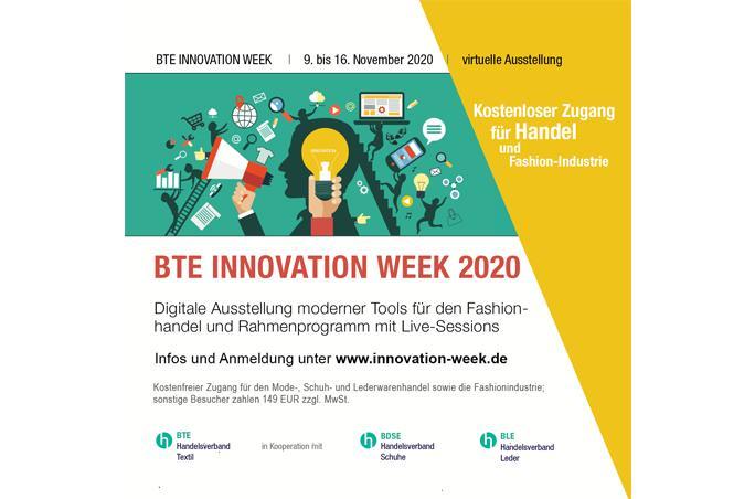 BTE Innovation Week findet online statt