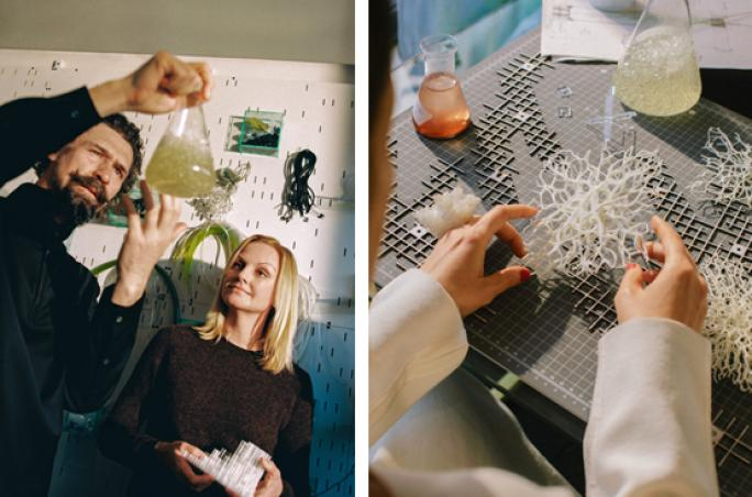 Cos zeigt Installation mit EcoLogicStudio auf Mailänder Designwoche
