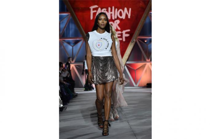Diesel unterstützt 'Fashion For Relief'-Fashion Show