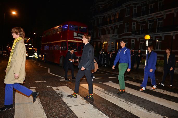 Stella McCartney, Menswear, Abbey Road, Bohemian