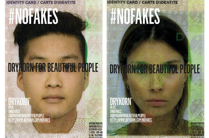 Drykorn ruft mit Kampagne zu mehr Authentizität auf