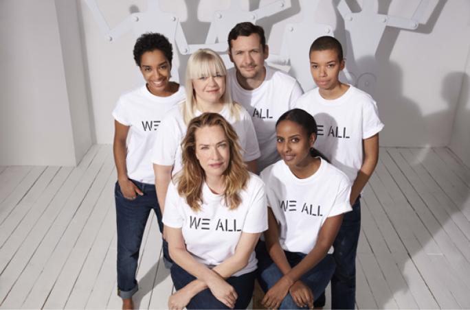 Esprit mit Kampagne für Frauenpower und Gender Equality
