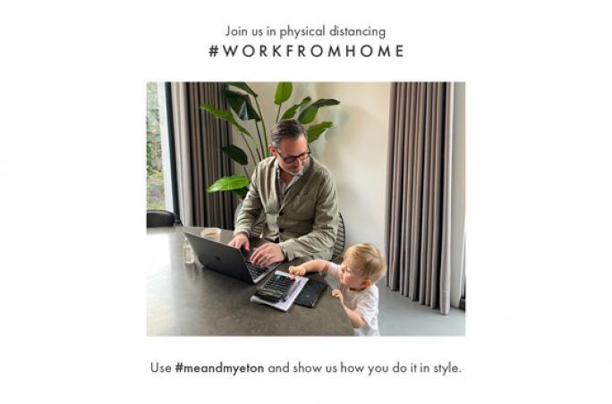 Eton ruft mit Social-Media-Kampagne zum zu Hause bleiben auf