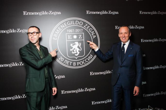 Ermenegildo Zegna: 20 Jahre in Russland