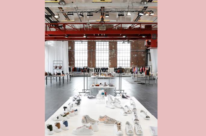 Gallery Shoes & Fashion kurz vor dem Start