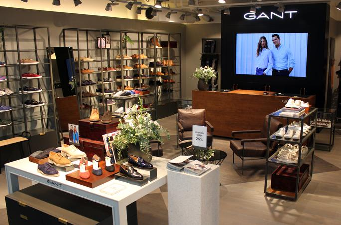 Gant Footwear, erster Store, Oslo, Skandinavien, Shop-in-Shop, Portland AS, David Friedrich