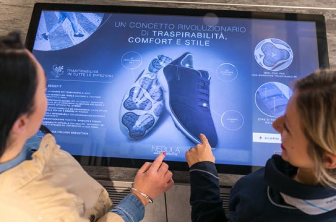 Geox präsentiert neues Store-Konzept