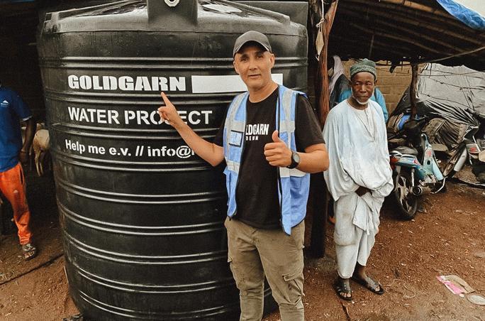 Goldgarn Denim präsentiert neues Charity-Projekt