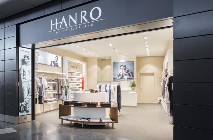 Hanro eröffnet ersten Airport-Store