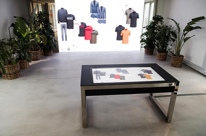 Hugo Boss startet 'Digital Showroom'