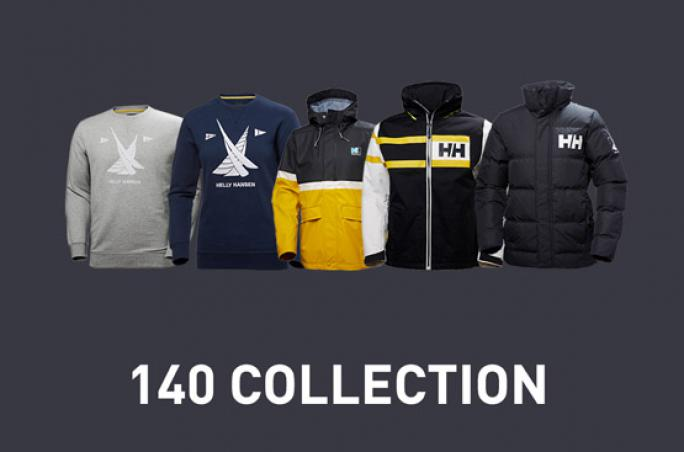 Helly Hansen mit 140 Year Heritage Collection
