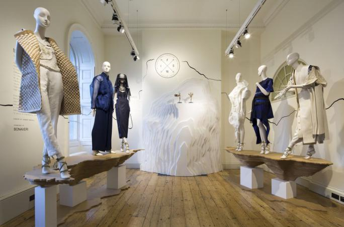 British Council ,  British Fashion Council ,  International Fashion Showcase , Mercedes-Benz ,Caroline Rush