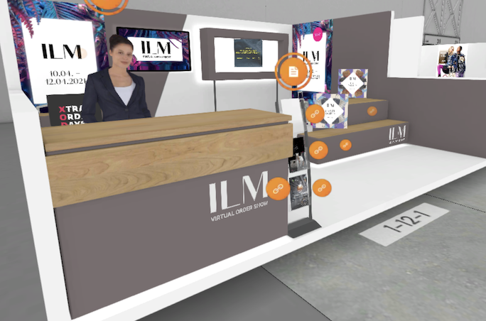 virtueller Messestand der ILM Virtual Order Show