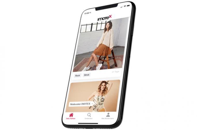 Imotex bringt Fashion App zur CPD heraus