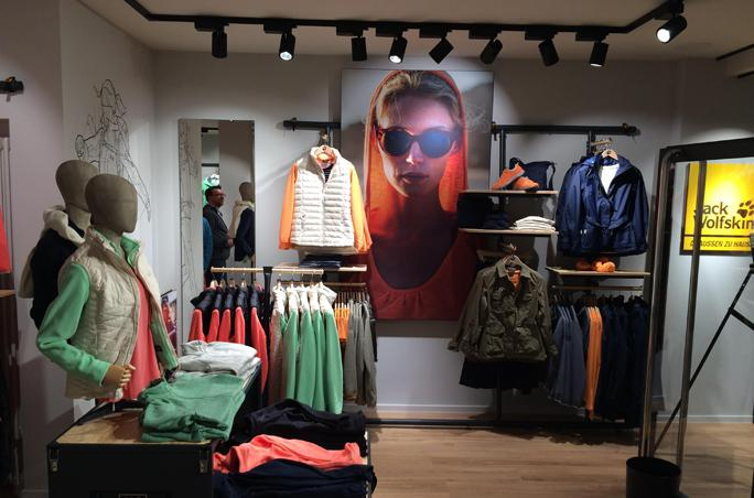 Jack Wolskin: Store-Openings nach Umbau