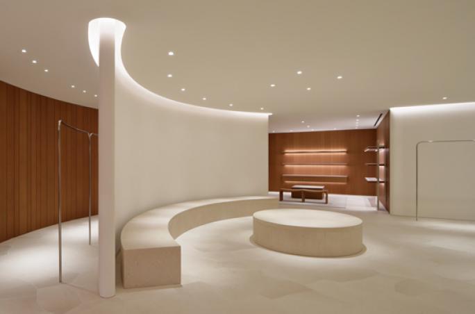 Jil Sander präsentiert neues Store-Design