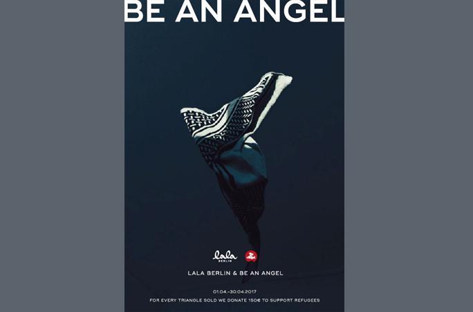 Lala Berlin unterstützt 'Be an angel e.V.'
