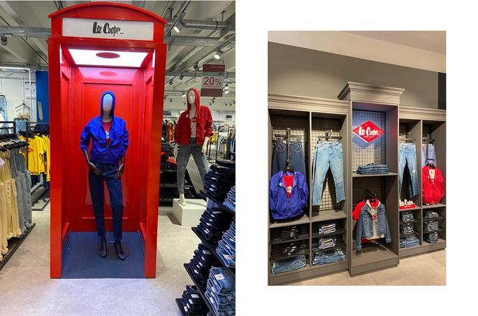 Lee Cooper eröffnet Shop-in-Shops