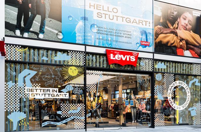 Levi's lanciert neuen Store und Charity-Aktionsreihe in Stuttgart