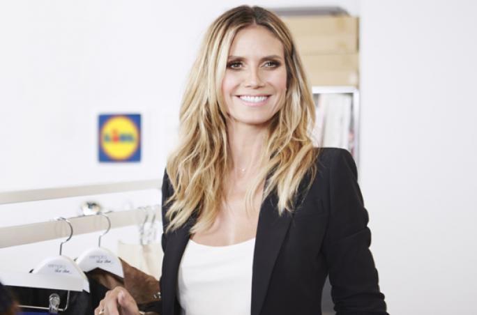 Heidi Klum entwirft Mode für Lidl