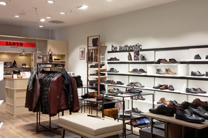 Lloyd: Concept Store in Düsseldorf im neuen Ladendesign