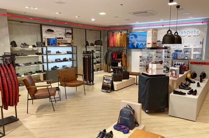 Lloyd Shoes investiert in Store- und Shopdesign