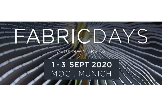 Fabric Days anstelle von Munich Fabric Start und Blue Zone