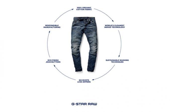 G-Star präsentiert ihre nachhaltigste Jeans